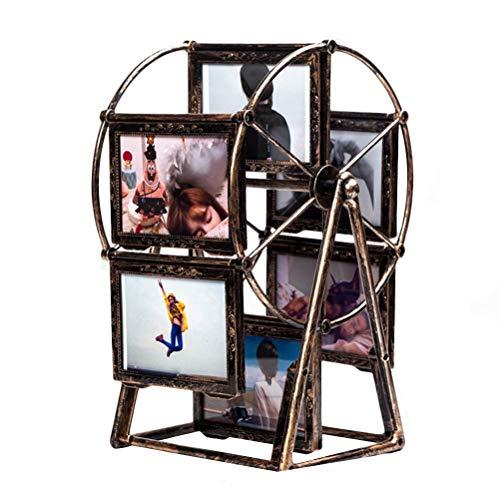 Vosarea 5inch tournant Grande Roue Photo Cadre Moulin à Vent Table Bureau décoration Cadeau