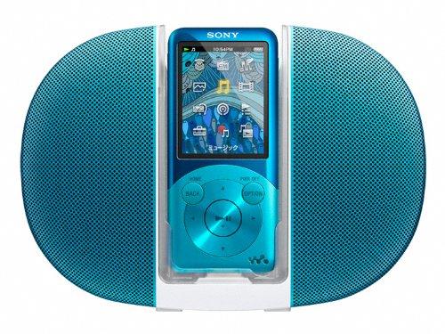 SONY ウォークマン Sシリーズ [メモリータイプ] スピーカー付 8GB ブルー NW-S754K/L