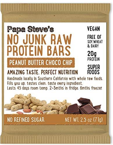 Papa Steve's No Junk Raw Protein Bars