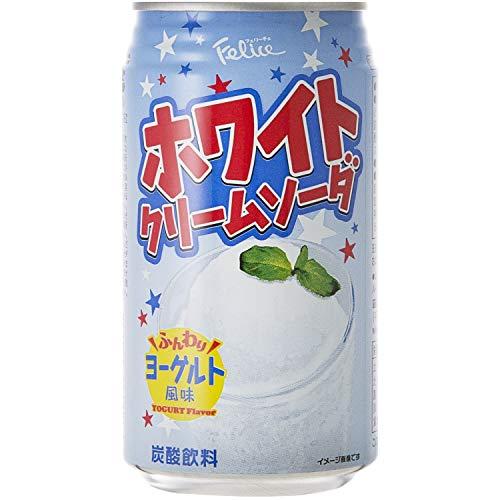 フェリーチェ ホワイトクリームソーダ 缶 350ml ×24本 [ 炭酸飲料 国内製造 ]