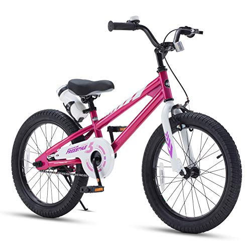"Royal Baby Freestyle 18"" Bike - Fuchsia"