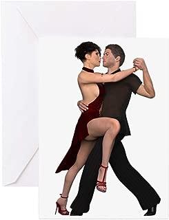 happy birthday tango dancer