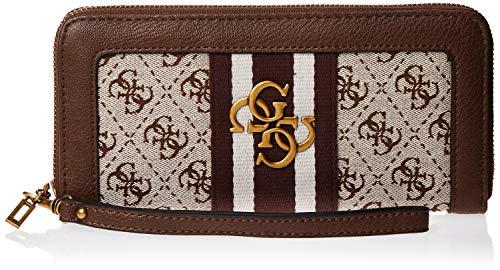 Guess Vintage, Damen Geldbörse, Braun (Brown), 2x10x21 cm (W x H L)