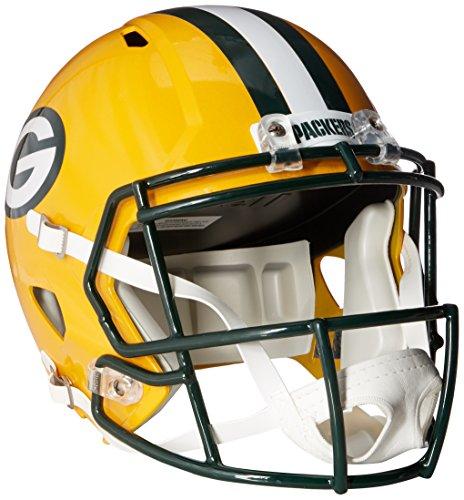 Riddell NFL Green Bay Packers Full Size Speed Replica Football Helmet