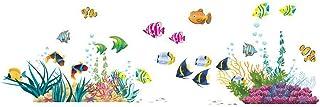ElecMotive Fisch Entfernbare Wandtattoo Wandaufkleber Wall s