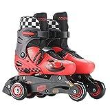 YSCYLY Quad Roller Skates,3-6 Ans réglable,Professionnels en Plein Air pour Adultes