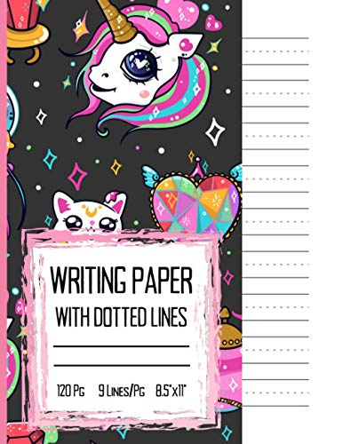 Cursive Writing Practice Paper Letter Size: 120 Pages of Letter Size Tablet Paper With Wide Lines   Includes Page Numbers, Date Fields, and a Cursive Alphabet.