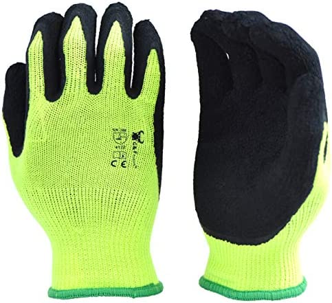 G F 1516 6 Pairs Pack Premium High Visibility Low emissions Green Work and gardening Gloves product image