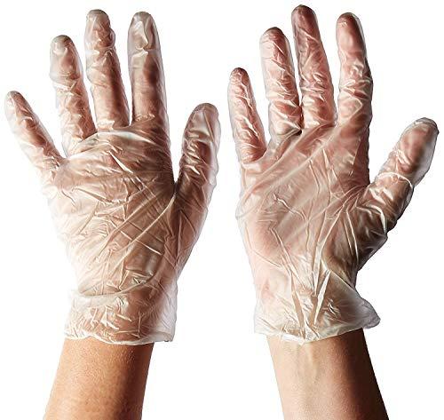 Pack de 300 guantes de polietileno desechables de plástico