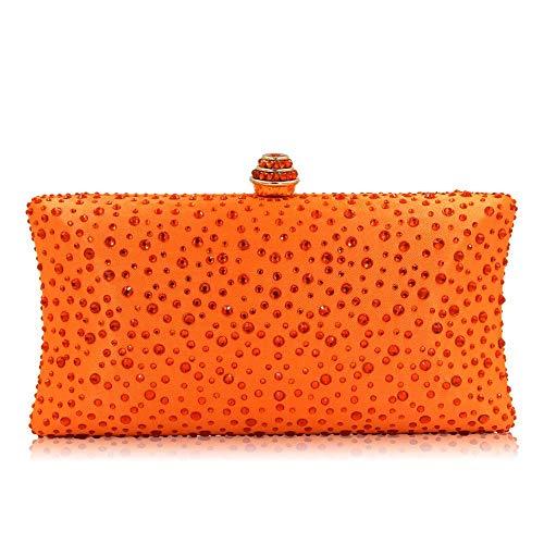 TOYIS handle Bag - Cartera de mano para mujer Naranja naranja talla única