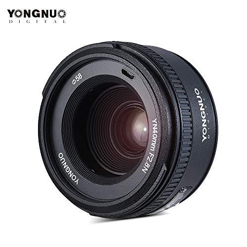 MeterMall Useful YONGNUO YN40mm F2.8N AF MF Lens Wide Angle Prime Auto Focus Lenses for Nikon D500 D7100 D7000 DSLR Camera Lens