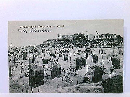 AK Nordseebad Wangeroog, Strand; Strandkörbe, Zelte, Wangerooge; gelaufen ca. 1918