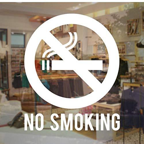 Hanzeze Store Zakelijke Niet Roken Teken Vinyl Decal Verwijderbare Woondecoratie Muurstickers voor Woonkamer Shop Raam Muurstickers 51x42 cm