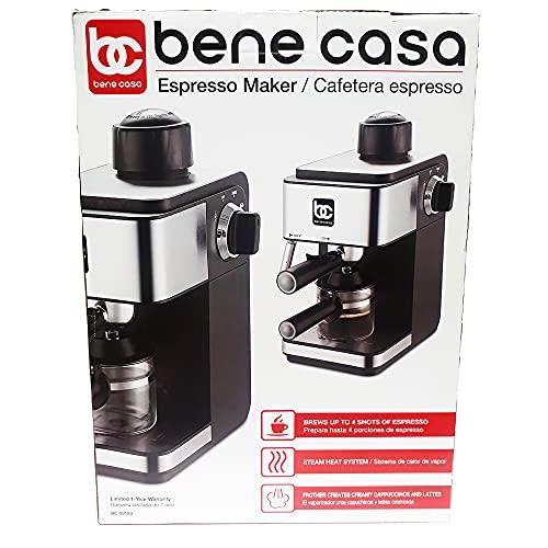 Bene Casa BC-99189 Espresso Maker, 4-Cup