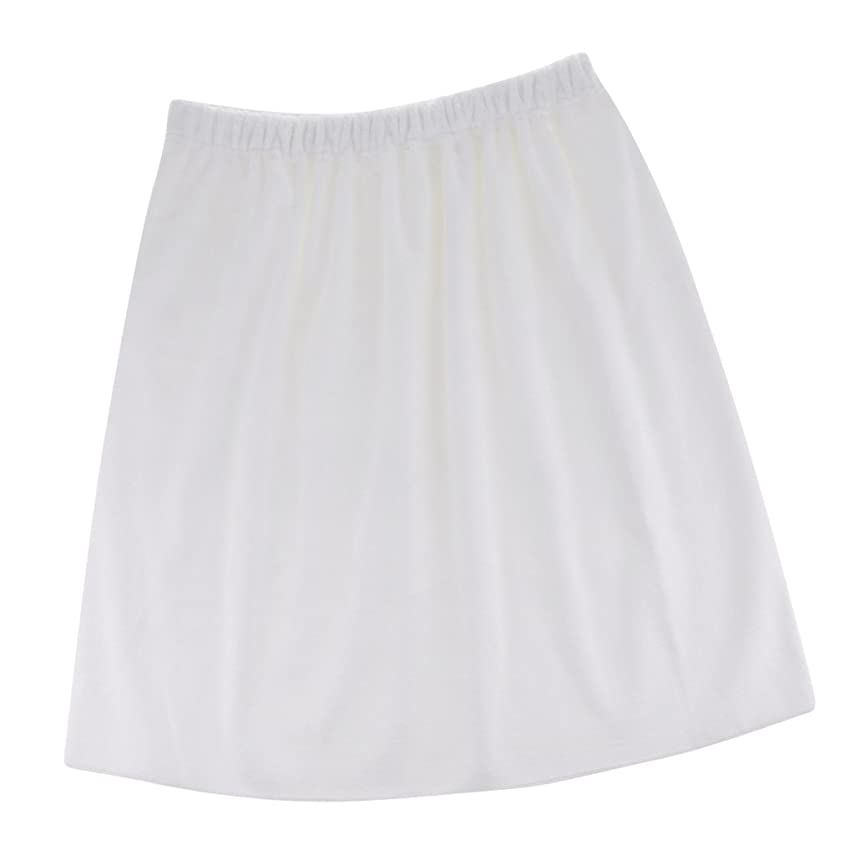 エレクトロニック原点床を掃除するPerfk タオルラップ 吸収性 メンズ バスシャワータオル 高品質 便利 5色選べる - 白