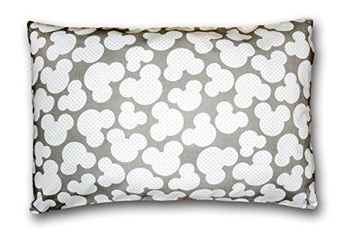 Amilian® Dekokissen Kissenbezug Kissen 40cm x 60cm A19 Miki Grau
