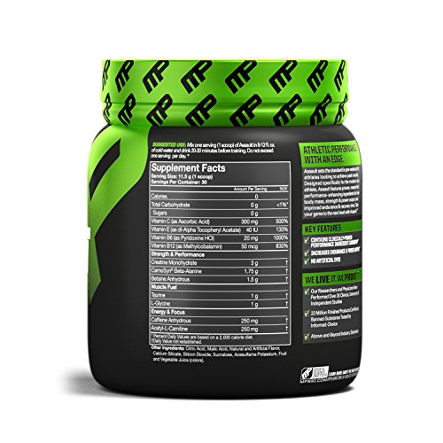 Assault Pre-Workout 30 servings Fragola - 519OPRVWs6L