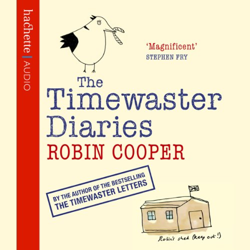 Timewaster Diaries audiobook cover art