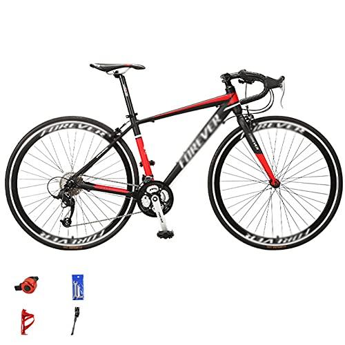 WANYE Bici da Strada 700C * 28C Bicicletta da Corsa in Alluminio da Città per Pendolari con 27 velocità