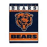 NORTHWEST NFL Chicago Bears Raschel Throw Blanket, 60' x 80', 12th Man
