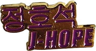 Teblacker Kpop Brooch Pin, BTS GOT7 EXO Twice Blackpink Seventeen Brooches & Pins for Women and Men( J-Hope)