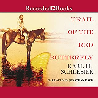 Trail of the Red Butterfly audiobook cover art
