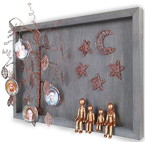 Willow Tree Family Sculpture/Frame