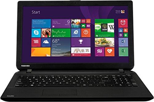 Toshiba Satellite C50-B-15C 39,6 cm (15,6 Zoll) Laptop (Intel Celeron N2840, 1,6GHz, 4GB RAM, 500GB HDD, Intel HD Graphics, Win 8 Bing) schwarzes punktdesign