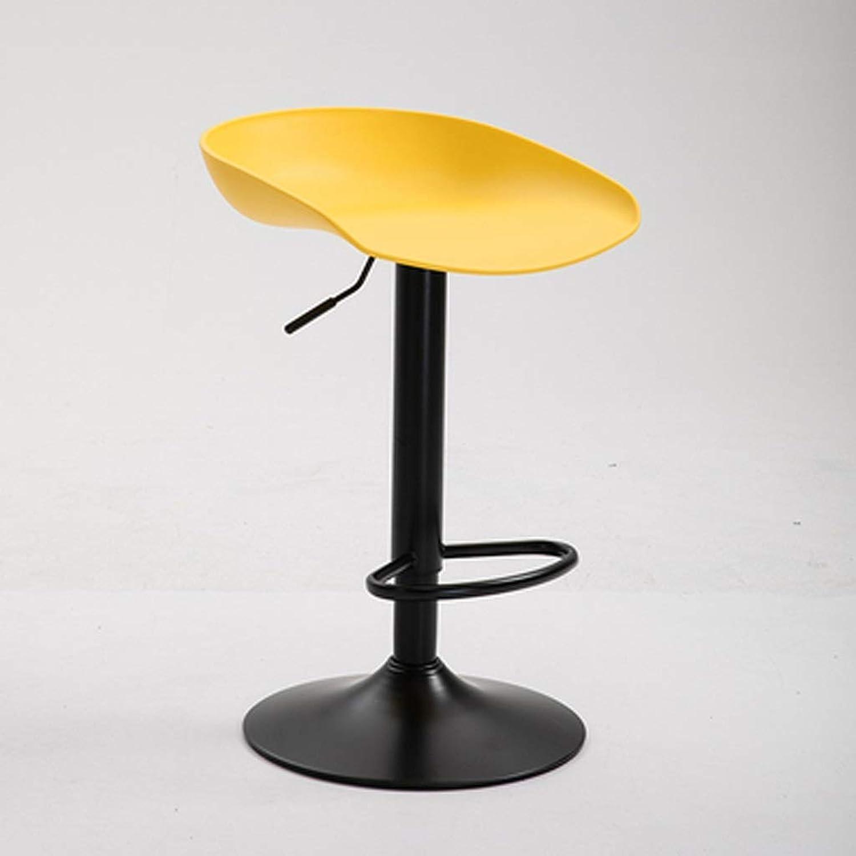Lxrzls redating Plastic Chair Bar Stool Height Adjustable Kitchen Chair