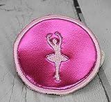 Button für Schulranzen Kletti Ballerina pink