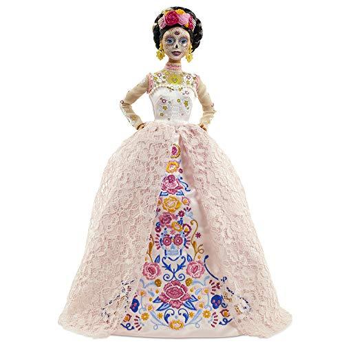 Barbie Bambola Celebrativa Dia de Los Muertos, da Collezione, Giocattolo per Bambini 6+ Anni, GNC40