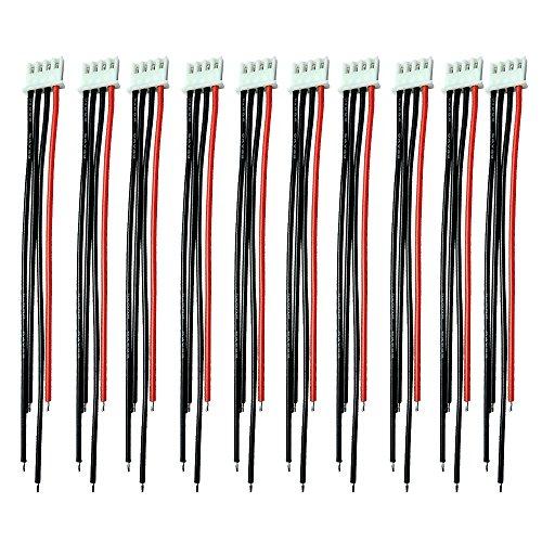 Boladge 2S-6S Cargador de Balance de Batería Cable de Silicona 15CM 22AWG...
