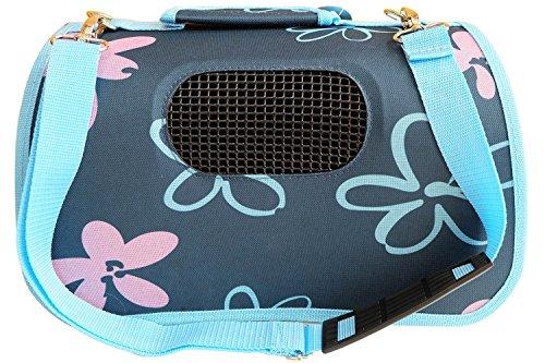 BPS (R) Trasportino, Borsa di tela per cane, gatto, animali domestici, animali, dimensioni: (L, 51x 26x 29cm) blu blu