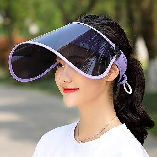 サンバイザー LightYou レディース レインハット 360°可動式 帽子 レインバイザー 自転車 キャップ UVカッ...