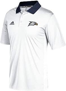 adidas Georgia Southern Eagles NCAA Men's 2017 Sideline White High-Density Coaches Polo Shirt