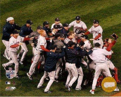 2007 Boston Red Sox MLB 8x10 Photograph World Series Celebration