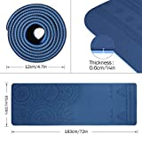 Zoom IMG-1 tomshoo tappetino yoga antiscivolo tpe