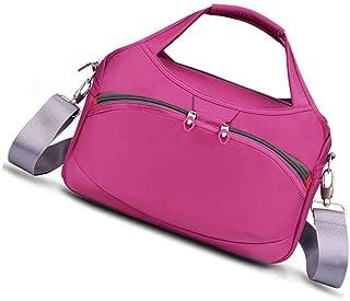 Good feeling zm Handtaschen Im Freien Wilde Beiläufige Nylonhandtasche Große Kapazität Reisetasche Segeltuch Oxford Tuch Schulter Kuriertasche Rose Rot