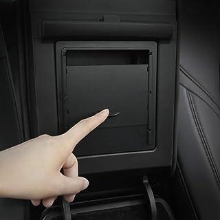 BASENOR Tesla Model 3 Model Y Center Console Organizer Armrest Hidden Storage Box