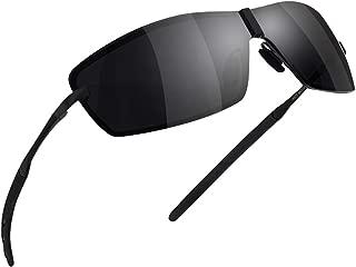 GS&GM サングラス 偏光レンジ スポーツサングラス 紫外線カット メンズサングラス ユニセックス 釣り 運転 軽量 男女兼用
