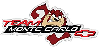 valstick Team Monte Carlo Logo Auto Car Bumper Sticker Decal 14'' X 6.5''