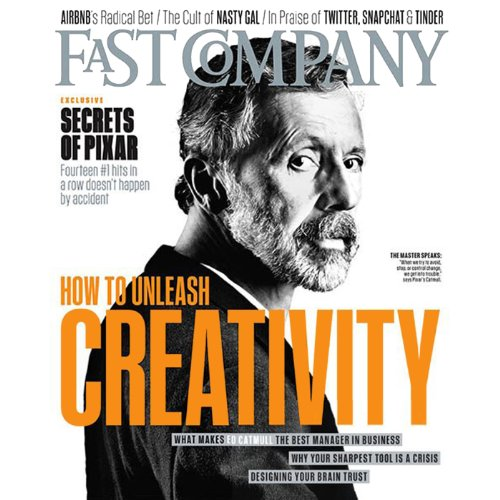 Audible Fast Company, April 2014 cover art