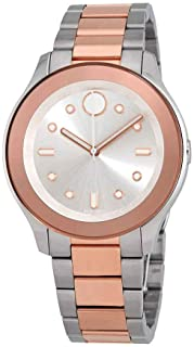 Movado Women's Bold - 3600430 Stainless Steel/Rose Gold Ion-Plated One Size