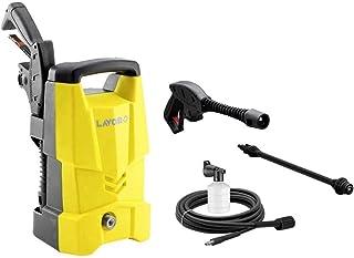 مجموعة مضخة ماء غسيل السيارة 120 بار 220 فولت من لافور لون اصفر