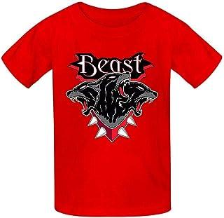 Della Graham Beast Children and Adolescent 3D Printed Outdoor Short-Sleeved T-Shirt XL Black