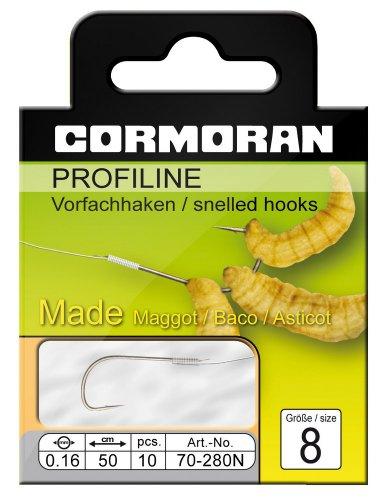 Cormoran PROFILINE Madenhaken nickel Gr.8 0,16mm