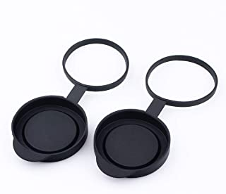 SVBONY Protective Rubber Objective Lens Caps 42mm for Fits Binoculars with Outer Diameter 52-54mm