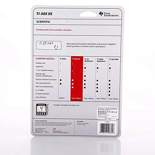Texas Instruments TI-30XIIS Scientific Calculator Photo #3