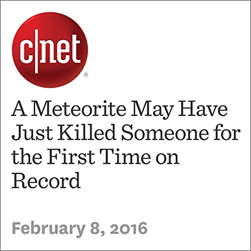A Meteorite May Have Just Killed Someone for the First Time on Record audiobook cover art