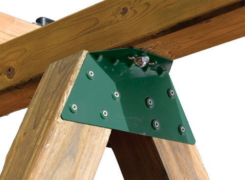Swing-N-Slide WS 4467 EZ Frame Bracket for Swing Set Swing Beam (Includes 1 Bracket), Green